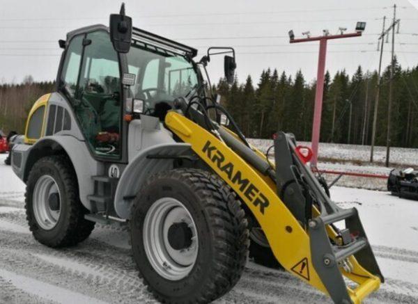 Kramer 8115 Arcticpower Pyöräkuormaaja