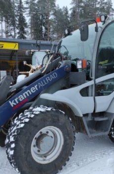 Kramer 380 Pyöräkuormaaja